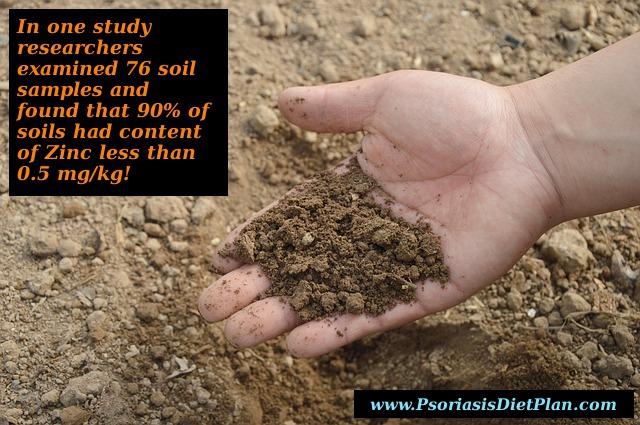 Zinc In Soil Is Depleted